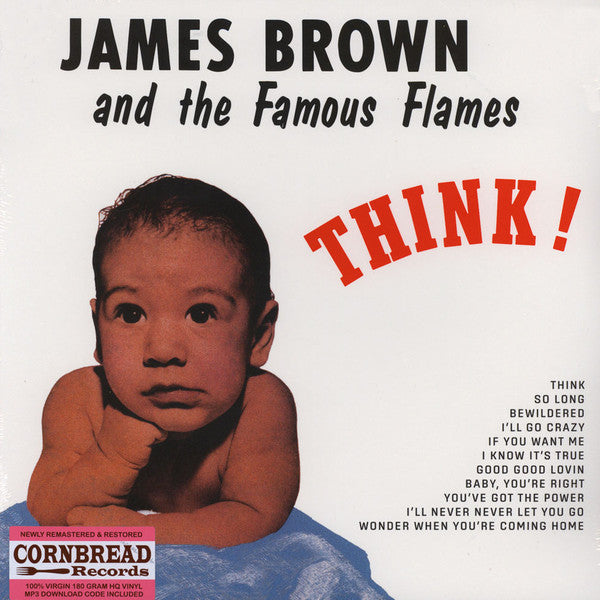 Brown, James And His Famous Flames ‎– Think!