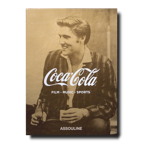 Coca-Cola Set of Three: Film, Music, Sports - Assouline