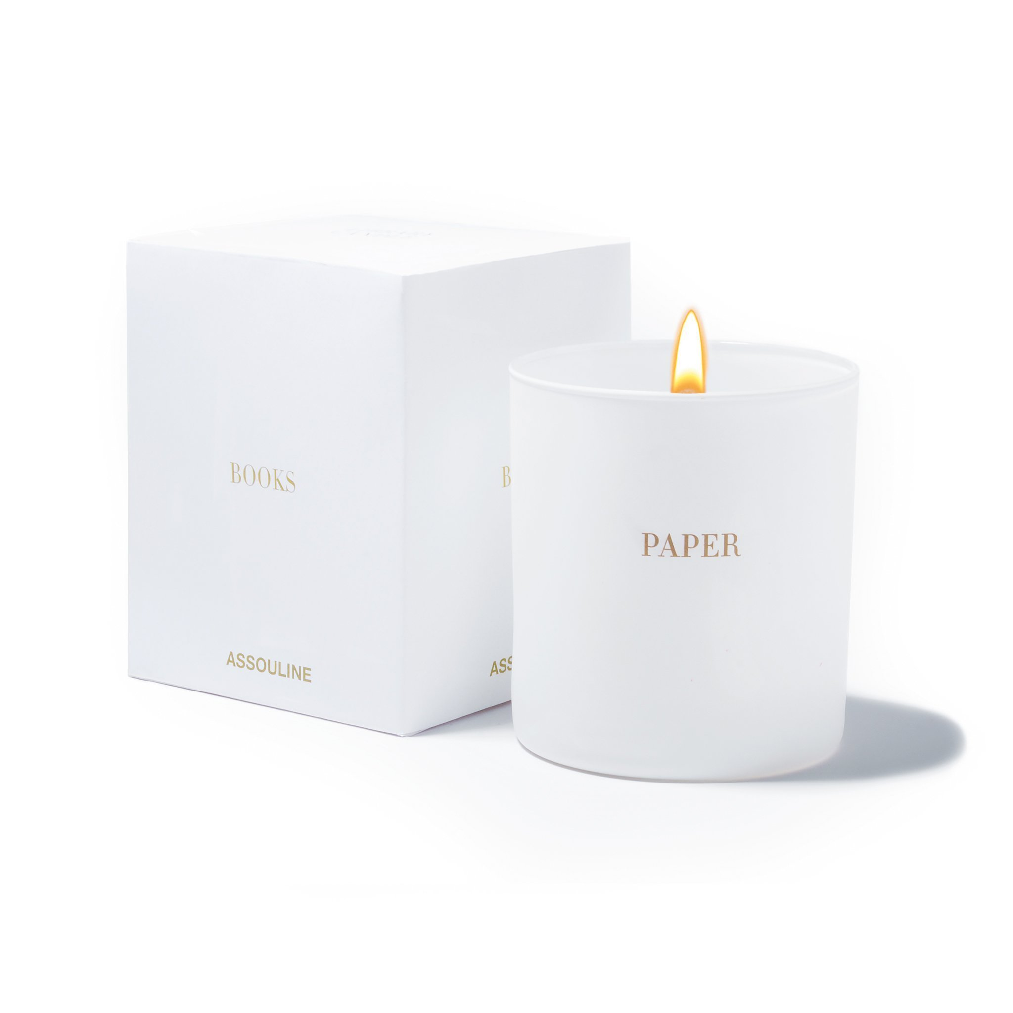 Paper Library Candle - Assouline