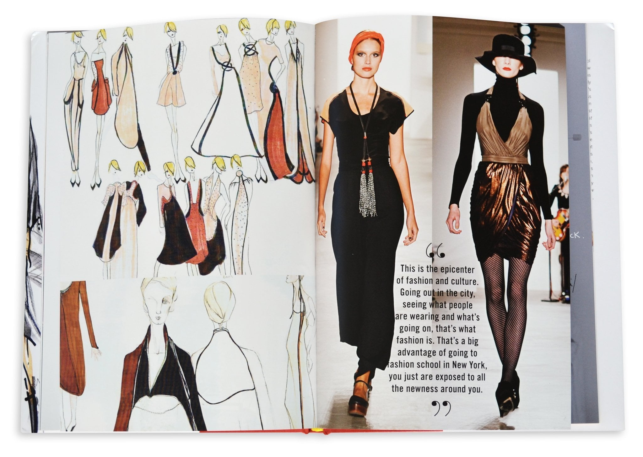 The School Of Fashion 30 Parsons Designers Book Assouline
