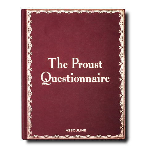 The Proust Questionnaire - Assouline