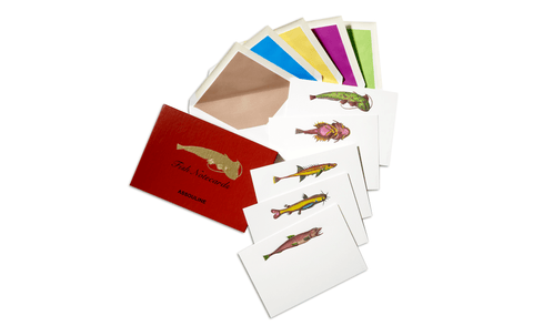 Lost Fish Notecards