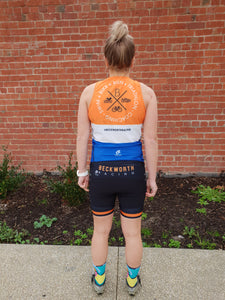Short sleeve triathlon top