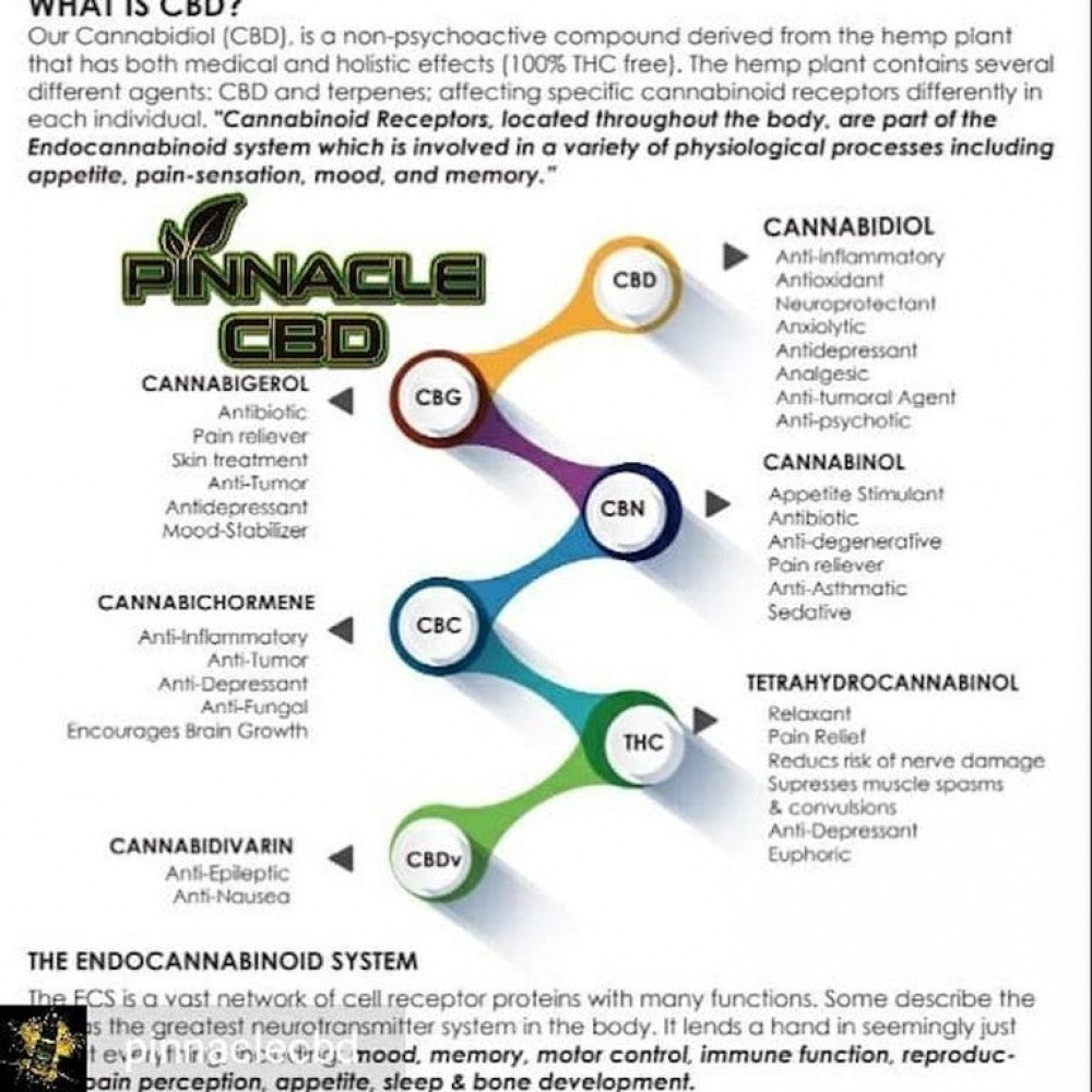 PINNACLE CBD - VAPE CARTRIDGE 1ML 500MG