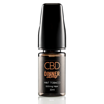 DINNER LADY CBD - MINT TOBACCO VAPE 30ML