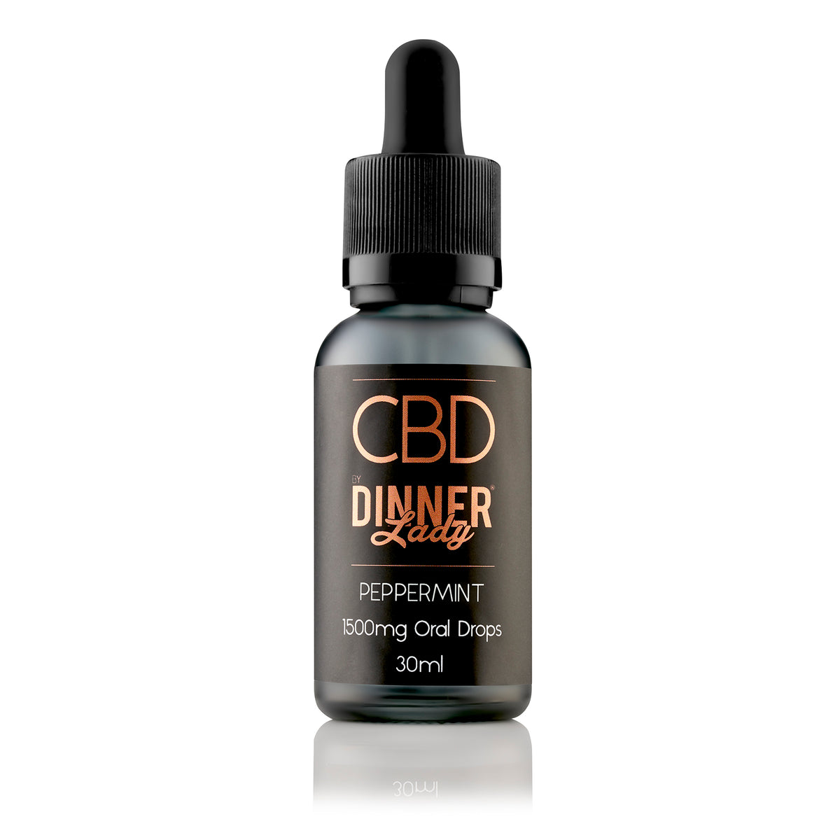 DINNER LADY CBD - ORAL DROPS PEPPERMINT 30ML