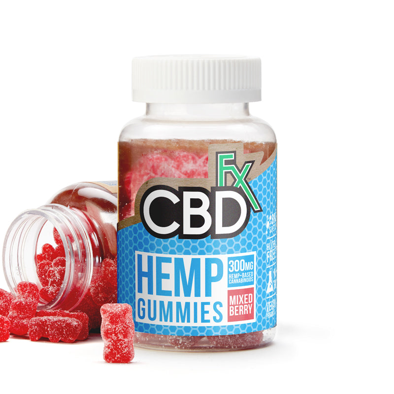 CBD FX - HEMP ANTIOXIDANT GUMMY BEARS 10MG 60CT BOTTLE
