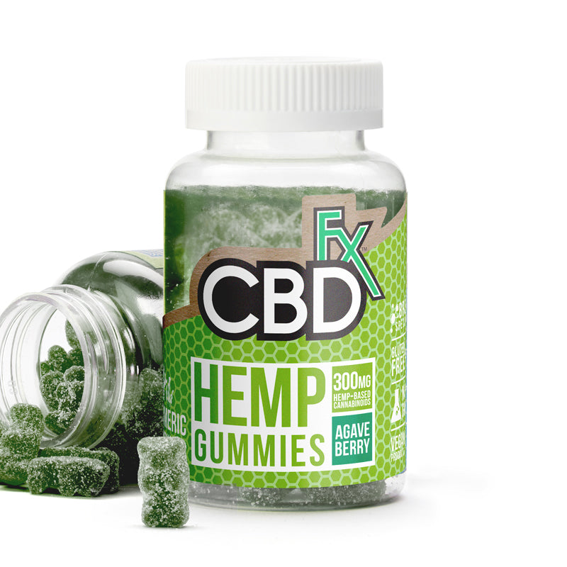 CBD FX - HEMP ANTIOXIDANT GUMMY BEARS WITH TURMERIC & SPIRULINA 10MG 60CT BOTTLE