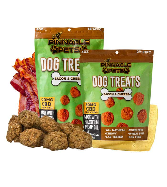 PINNACLE CBD - DOG TREATS