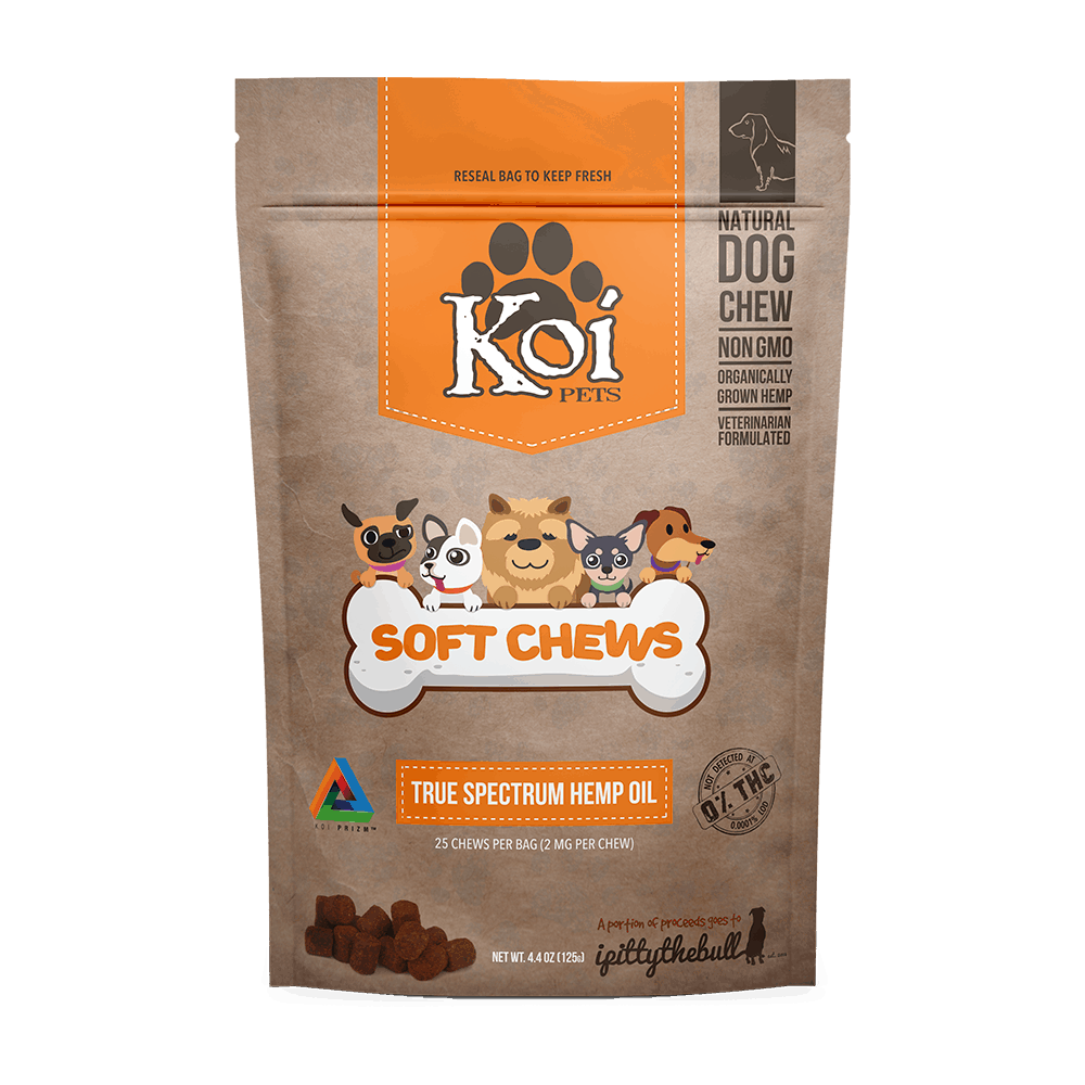 KOI CBD - DOG TREATS 25CT 62.5MG