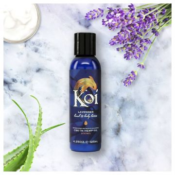 KOI CBD - LAVENDER HAND AND BODY LOTION 125ML 200MG