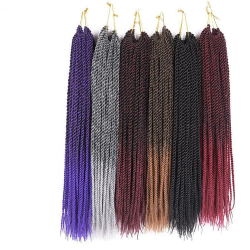 30roots Senegalese Twist Crochet Braid Hair Extensions Synthetic