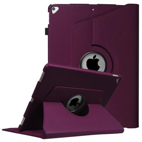 Fintie iPad Pro 12.9 Case - 360 Degree Rotating Stand Case with Smart Protective Cover Auto Sleep / Wake Feature for Apple Pro 12.9 (1st Gen 2015) / iPad Pro 12.9 (2nd Gen 2017), Purple