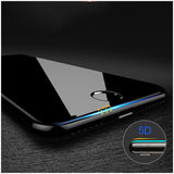 Hardness 5D Curved Edge Full Cover Tempered Glass for iPhone 6 glass iPhone 7 Glass 6s X 8 Plus Screen Protector Film (Better3D)