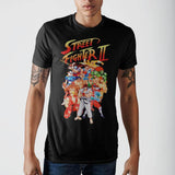 Street Fighter Character Group T-Shirt game