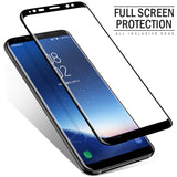 ZNP 3D Curved Full Cover Tempered Glass For Samsung Galaxy S9 S8 Plus Note 8 S7 S6 Edge S8 Screen Protector Tempered Glass Film