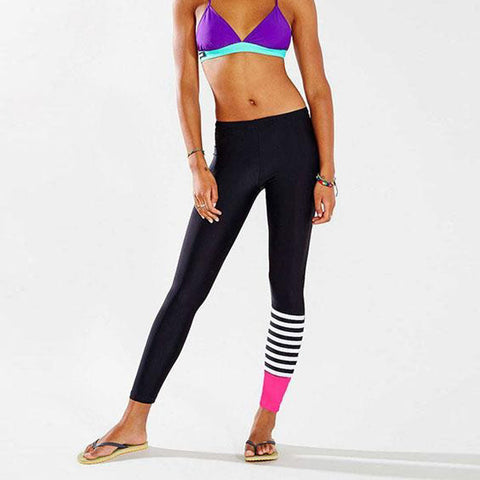 Women YOGA Running Pants Dance Cropped Leggings High Waist Stretch Trousers Workout Pants#20