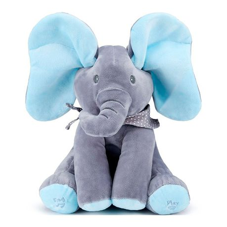 Plush Peekaboo Elephant - Assorted Colours