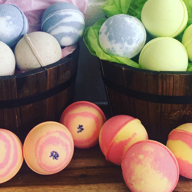 Bath Bombs 5 Pack Kit Save 5% - Larissa Bright Australia