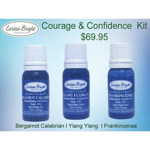 Courage & Confidence Essential Oil Kit - Larissa Bright Australia
