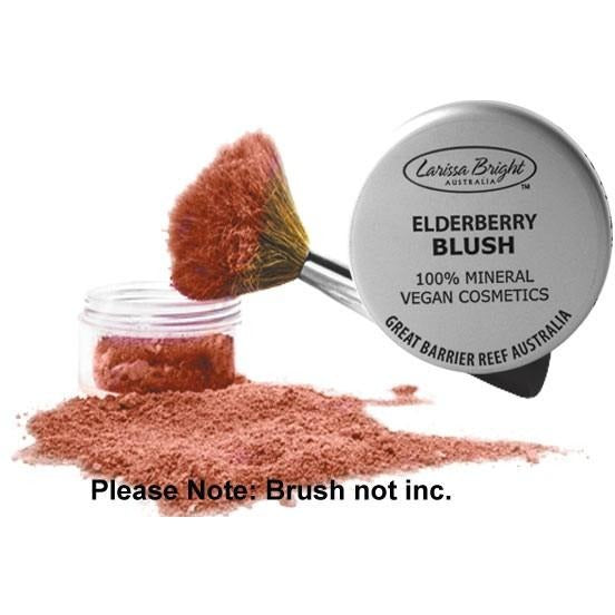 Mineral Vegan Blush Elderberry - Larissa Bright Australia