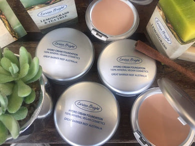 Mineral Vegan Hydro Cream Foundation - Larissa Bright Australia