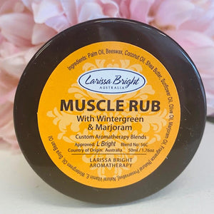 Muscle Rub - Larissa Bright Australia