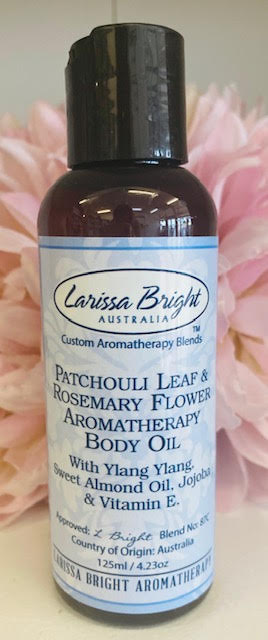 Patchouli Leaf & Rosemary Body Oil - Larissa Bright Australia