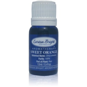 BULK 50ml Sweet Orange Essential Oil Save 35% - Larissa Bright Australia