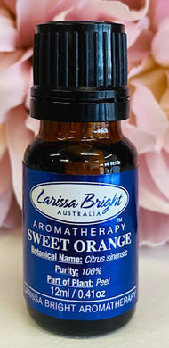 Sweet Orange Essential Oil - Larissa Bright Australia