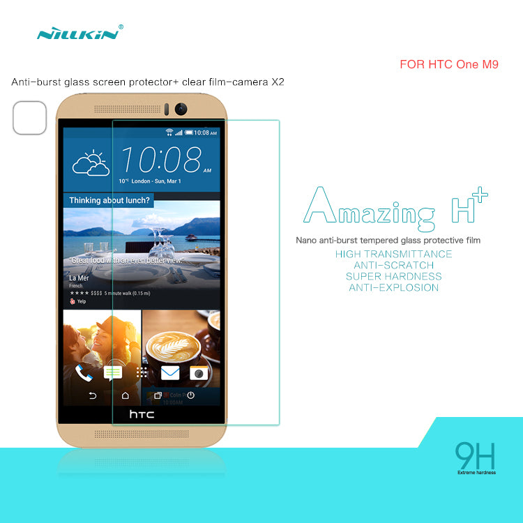 Nillkin H+PRO Glass Screen Protector for HTC M9