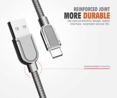 LDNIO (LS62) Braided Type C Fast Charging Cable