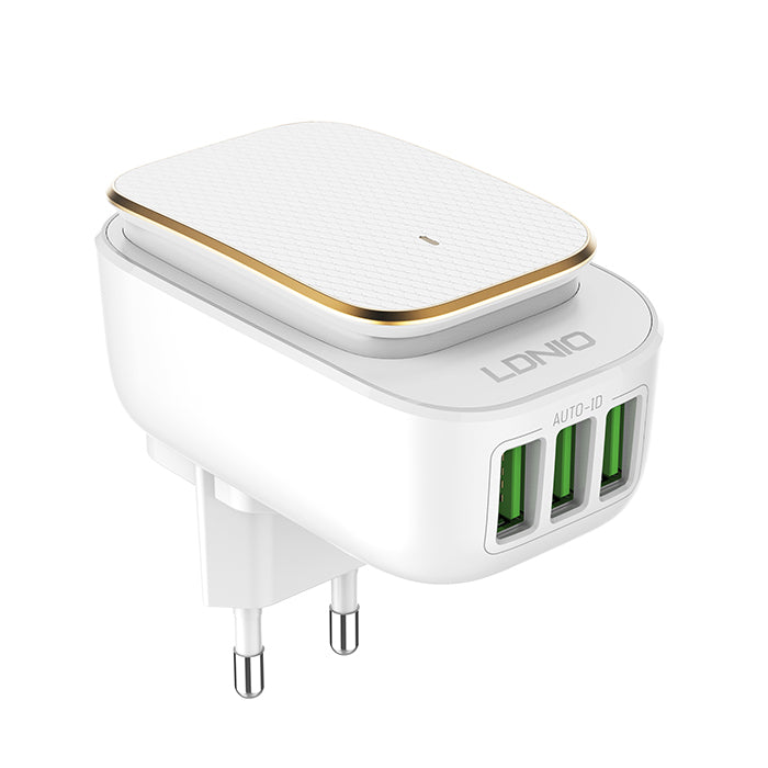 LDNIO (A3305) 3 Port USB Charger with Night Light