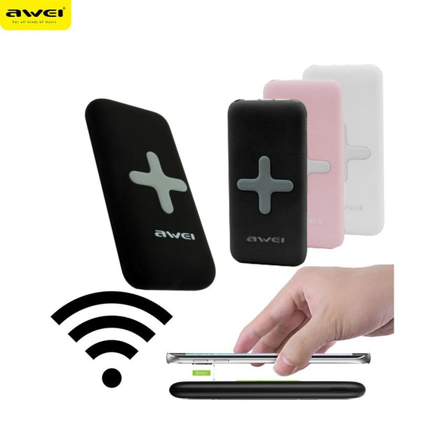 AWEI 7000mAh Wireless dual USB power bank