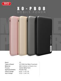 XO PB-08 10000mAh power bank