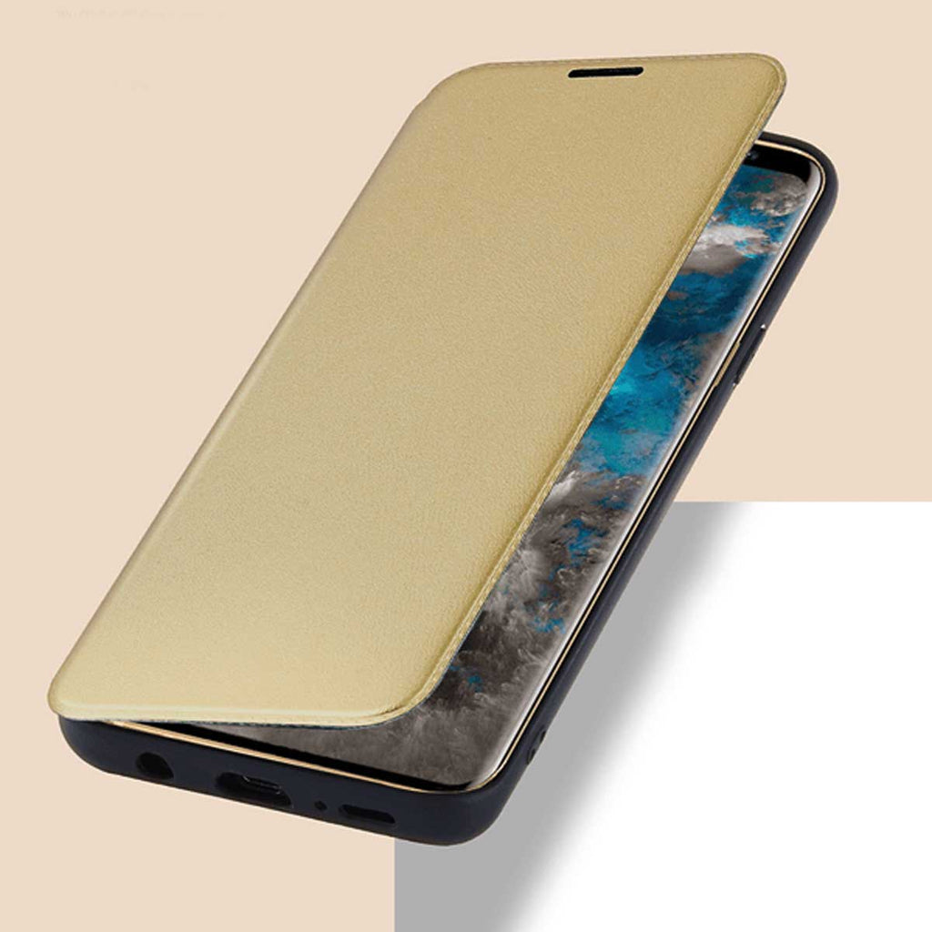 TOTU Design leather case Samsung S9-Gold