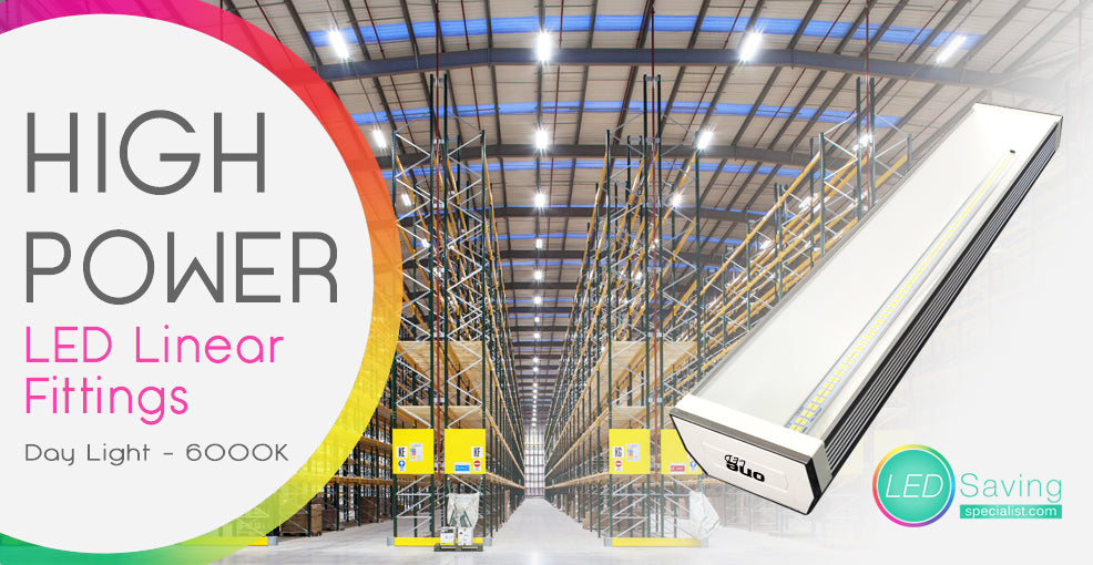 LED LIGHTING INSTALLATION - WAREHOUSE - FACTORY - LOGISTICS - DISTRIBUTION CENTRES