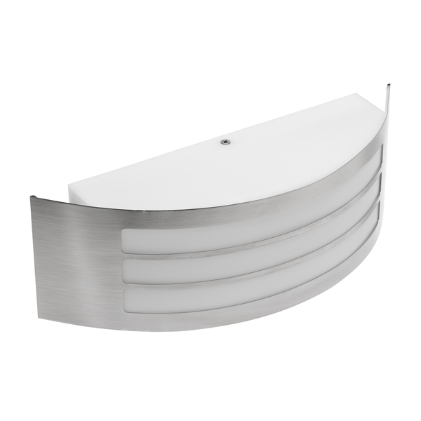 Astrit E27 Grey Curved Wall Light