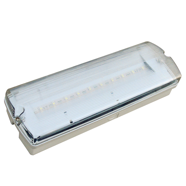 2W Non Maintained Emergency LED bulkhead