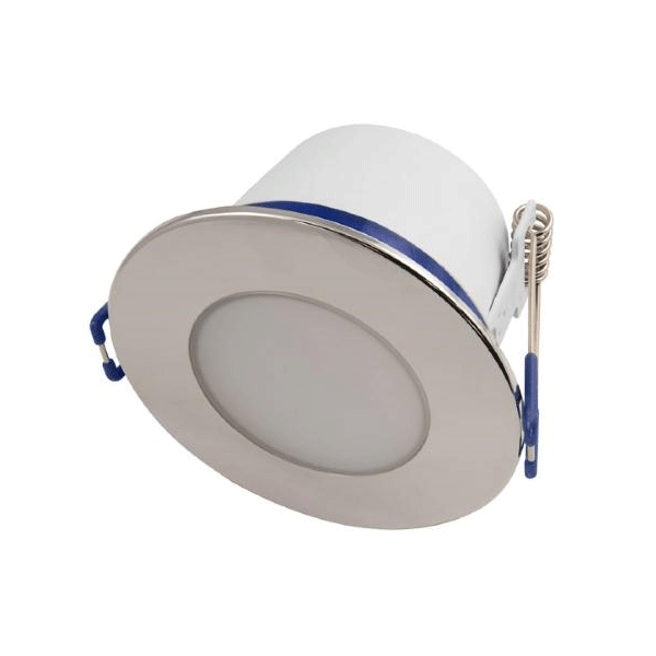 5.5W IP65 LED Fixed Dimmable Downlight - Chrome Bezel