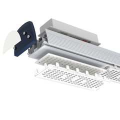 140lm/W ULTRALUME IP65 LED LINEAR WAREHOUSE LOW BAY RACK LIGHT- 100W, 150W