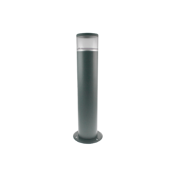 Ovia Grey Bollard Light