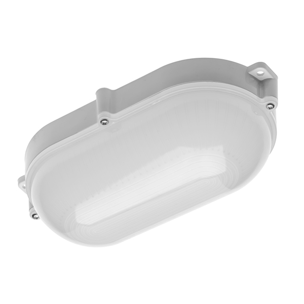 10W Luxia LED Oval Bulkhead Light