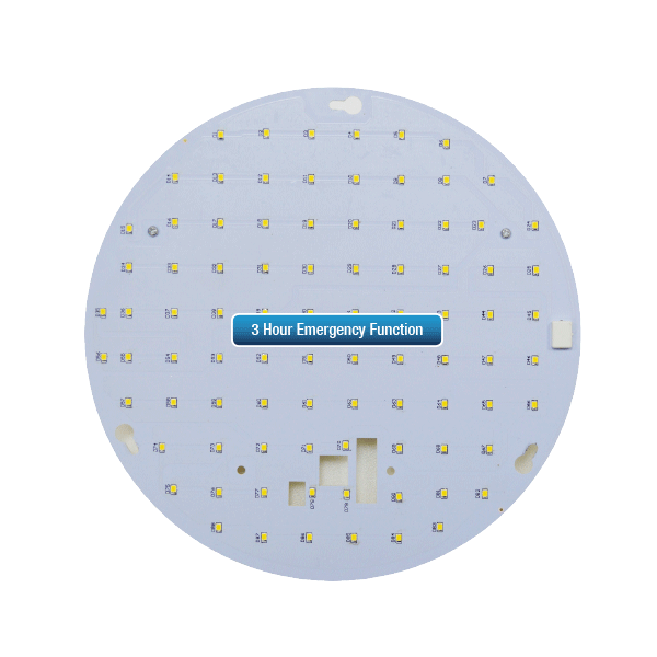 15W 2d Retro Fit LED Tray With 3hr Emergency