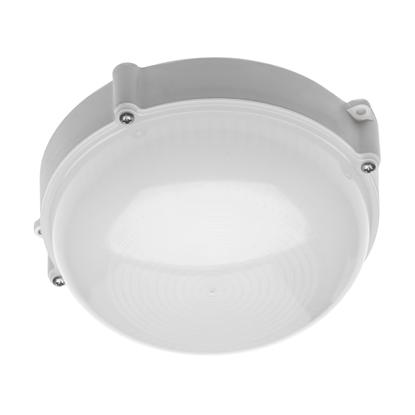 10W Luxia LED Round Bulkhead Light