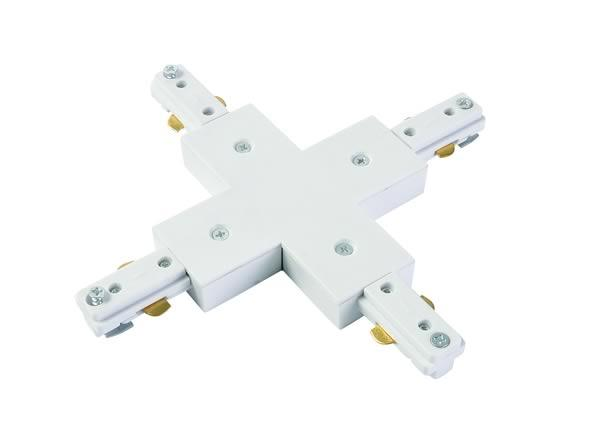 Aluminium Culina X Connector -  White
