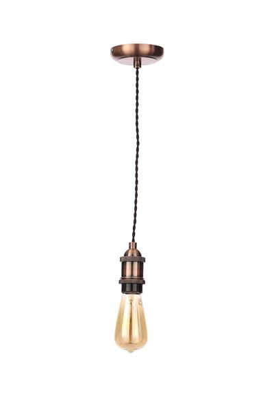 Inlight Antique Copper Twist Decorative Cable Set E27 42W Maximum