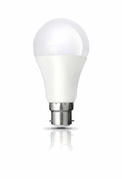 9W Smart Dusk to Dawn B22 LED Light Bulbs 2700K (Warm White)