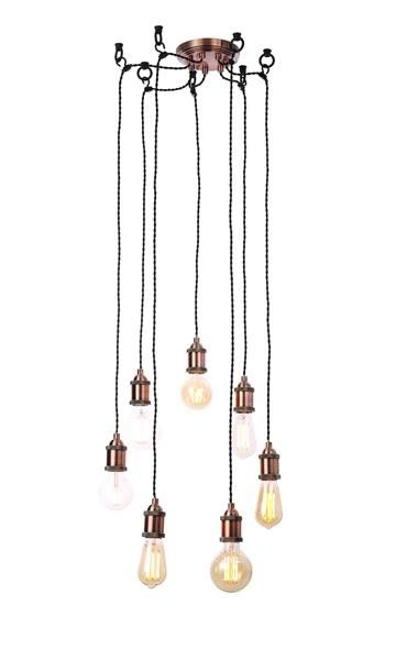 Padua 7 Pendant Antique Copper