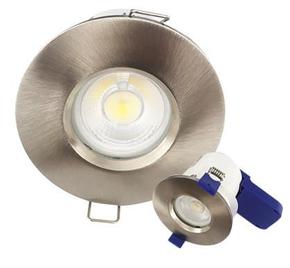 7W Dimmable LED Fire Rated Downlight